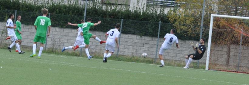 Gol partita (1-3) del Pianella con di Di Rosa