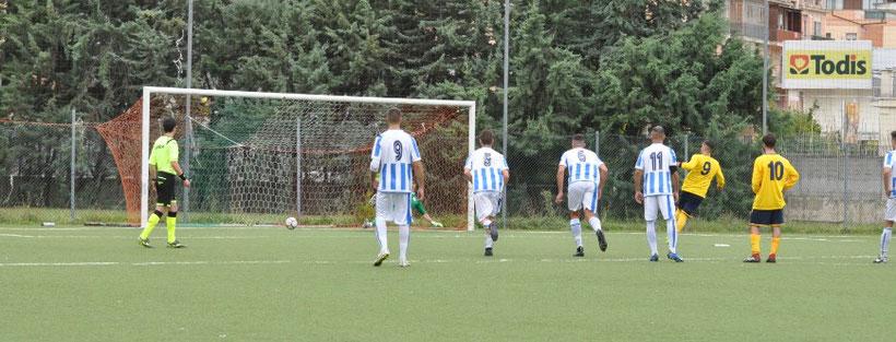 0-1 Casalincontrada, Di Primio su calcio di rigore