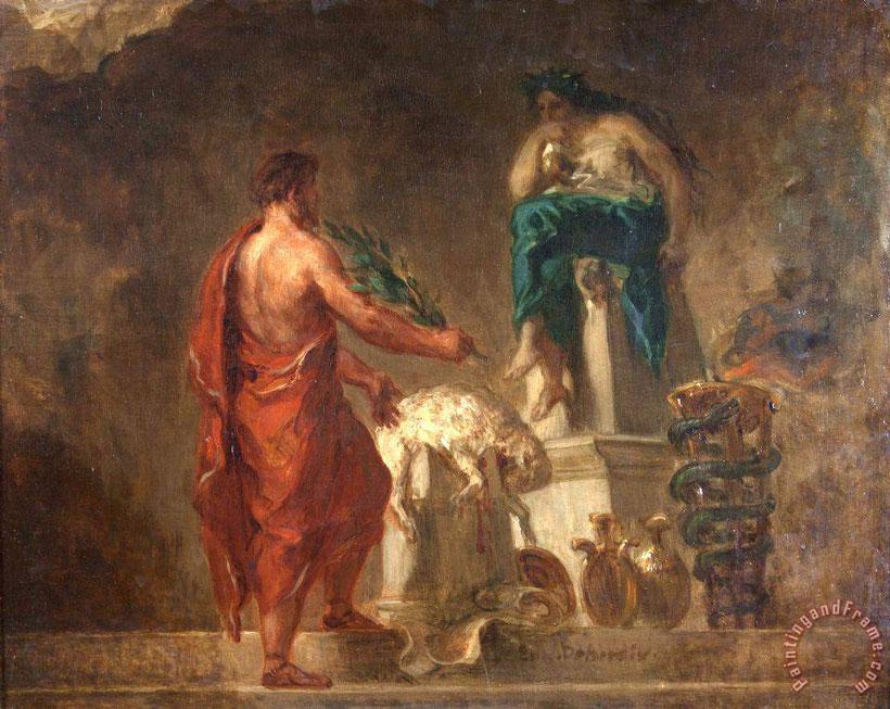 Licurgo; pitia; Delfos; Apolo; Esparta; leyes; Rhetra; legislación en Grecia; oráculo; pitonisa;