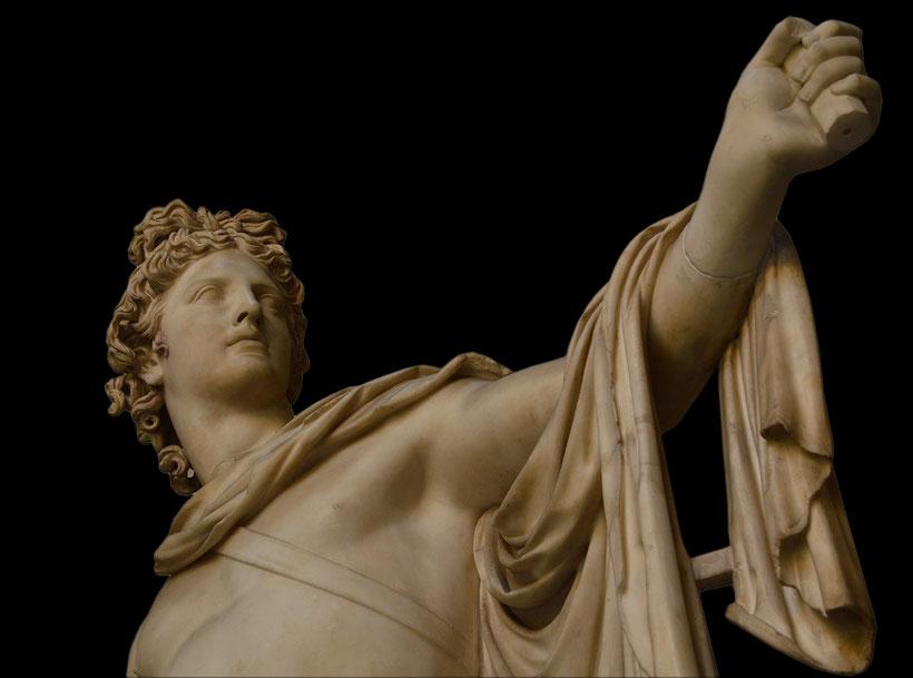 Apolo; Delfos; pitonisa; oráculo; templo oracular; mitología griega;