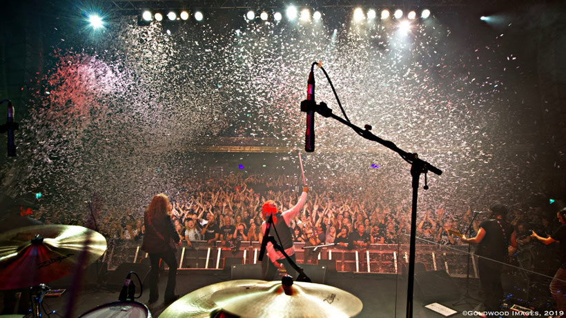 'Orchestral Quireboys' Live at the O2 Forum Kentish Town in Friday 3rd Sept 2021, rockers and other animals