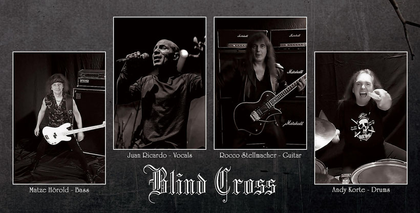 BLIND CROSS, Merciless Time, limited Vinyl edition,  Rocco Stellmacher, Heavy Metal, The Hammer And The Nail, new video, rockers and other animals