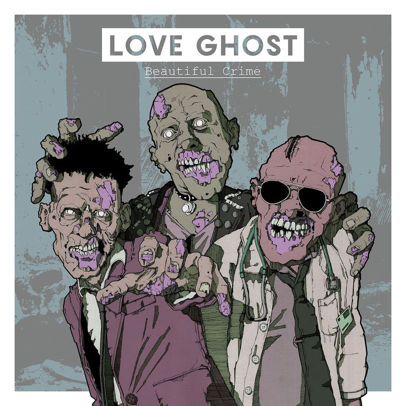 Love Ghost, Beautiful crime, rockers and other animals, Alternative Rock