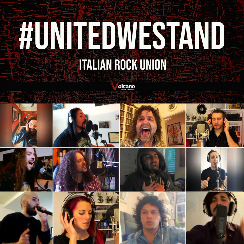 #UNITEDWESTAND, United Rock against Covid-19, volcano records, rockers and other animals, coronavirus