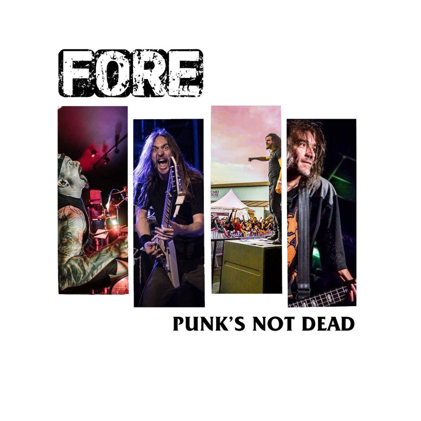 FORE; punk band featuring ex-KREATOR bassist and VENOM INC, MASSACRE members release two new songs