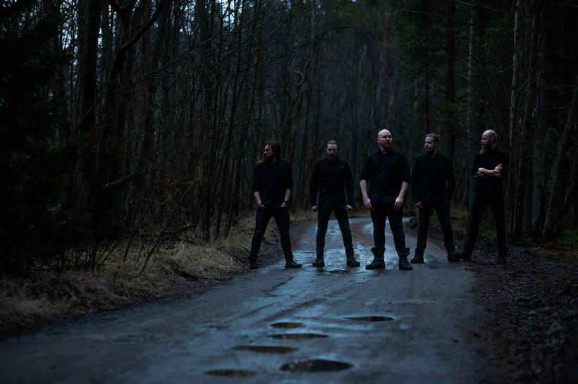 """Promo pic by Antti Pahkamäki   Finnish melancholic metal act Nicumo are about to release their third full length album. Album is titled """"INERTIA"""" and will be out on March 27th 2020 through Inverse Records.  The band released a music video for Time Won't H"""