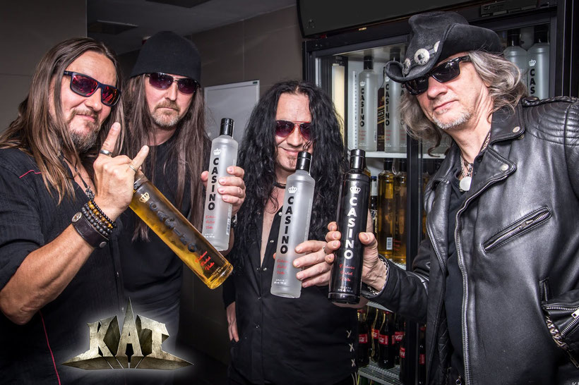 KAT, New Music Video, The Race For Life, Rockers And Other Animals magazine, News, Heavy Metal