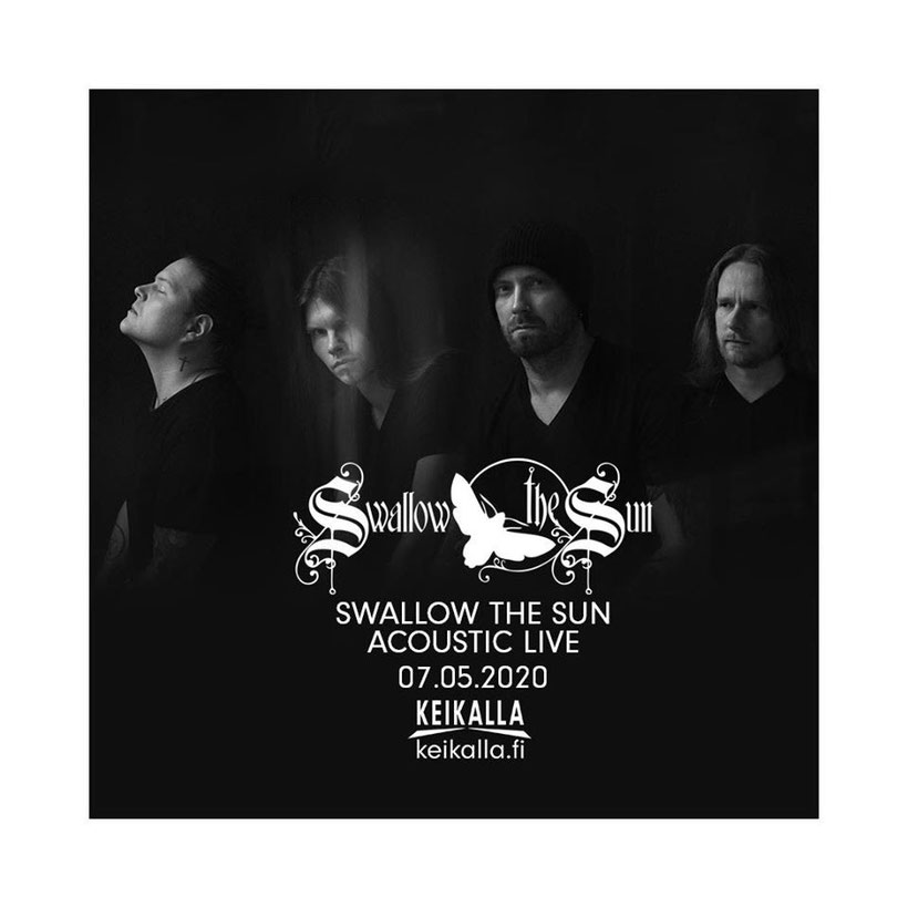 SWALLOW THE SUN, acoustic live, show, rockers and other animals magazine, news