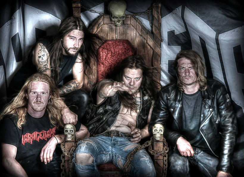 Austrian metal band, GARAGEDAYS, have announced the release of their fourth album 'Something Black' on November 13