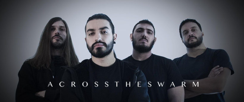 ACROSS THE SWARM, death metal, new album, Projections,  Time To Kill Records, rockers and other animals, news