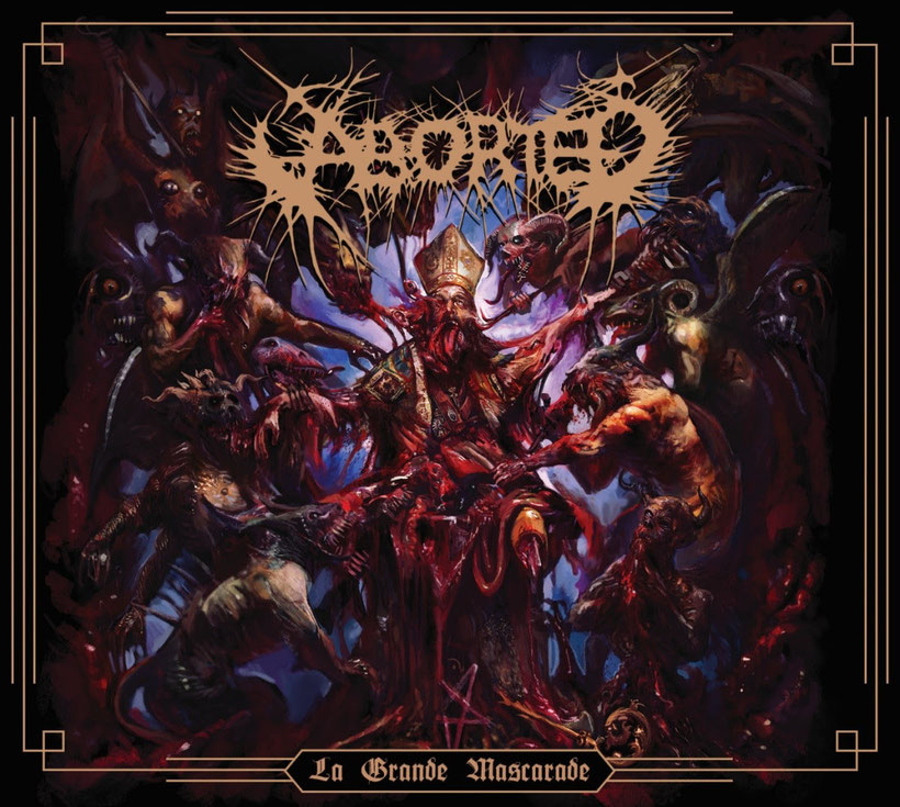 ABORTED, new EP, Serpent of Depravity, new video, La Grande Mascarade, Death Metal, Grindcore, Hardcore, Rockers And Other Animals, News