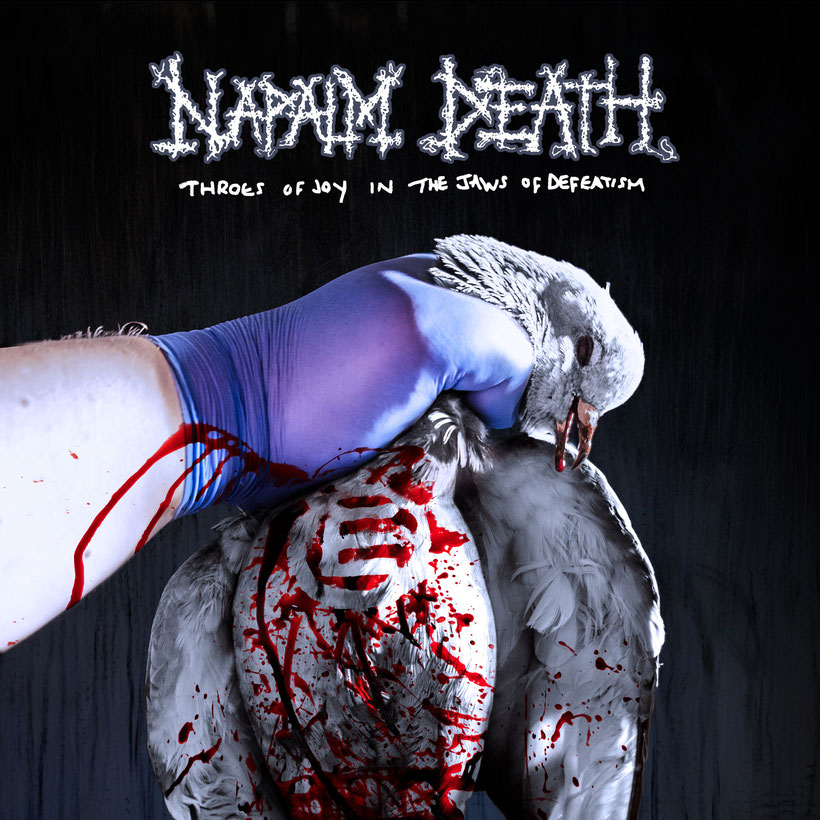"NAPALM DEATH, rockers and other animals,new single/video ""Amoral"" off upcoming album ""Throes of Joy in the Jaws of Defeatism"""