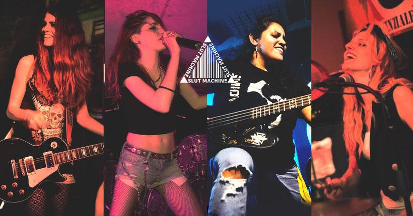 BLACK CAGE  new album alternative rock SLUT MACHINE