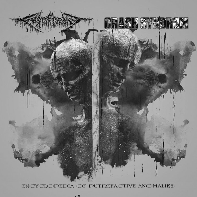 "FESTERDECAY (JP) / CRASH SYNDROM (JP) ""Encyclopedia of Putrefactive Anomalies"" to be released on September, rockers and oter animals"