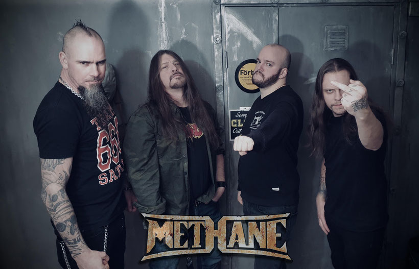 METHANE, New Drummer, HANS KARLIN, Cryonic Temple, Letters from the Colony, rockers and other animals, news,  heavy metal