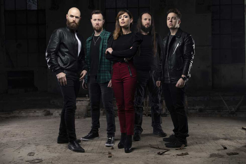 RAVENSCRY, The Door Inside, Lyric Video, single, female fronted, melodic metal, century media records, rockers and other animals, news, 100