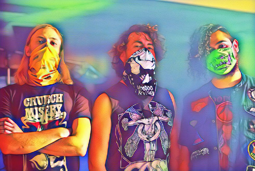Monte Luna are making lots of noise with a new line up and a new ep.- 'Mind Control Broadcast'