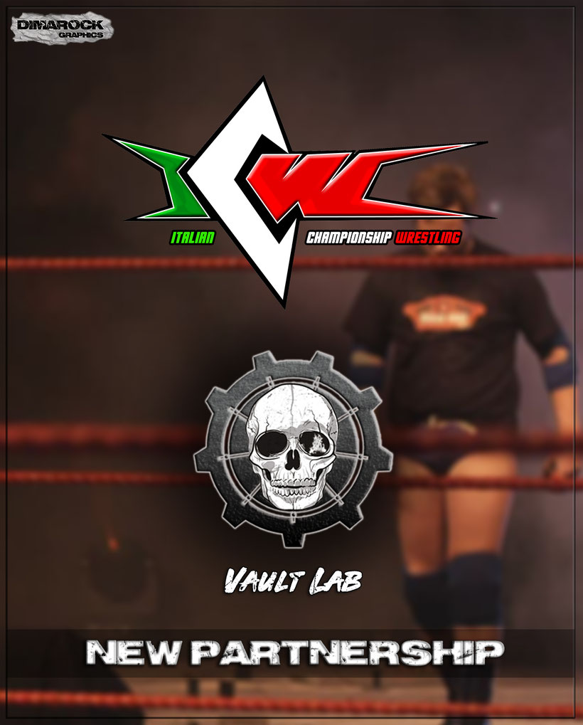 VAULT LAB, Collaboration, ITALIAN CHAMPIONSHIP, Wrestling, Italian independent wrestling federation, rockers and other animals, news