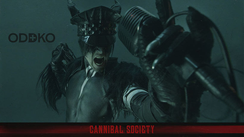 """ODDKO Releases New Single """"Cannibal Society"""", rockers and other animals"""