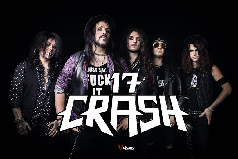"""Through Hell And Back"", the new 17 Crash album is finally available Rockers And Other Animals"