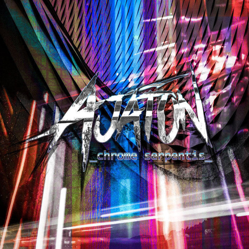 The voyage to Chrome Serpentis has started - Finnish AJATON released an epic cyberpunk-track, rockers and other animals