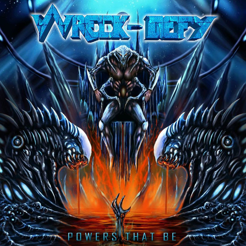 Wreck-Defy (ex-Annihilator, Testament):  Release new lyric video Drowning from Darkness from new album Powers That Be, rockers and other animals