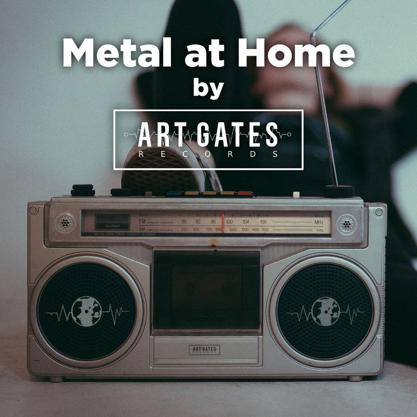 Confined, quarantine, playlist, Metal home, Art Gates Records, spotify, compiltaion, rockers and other animals, news