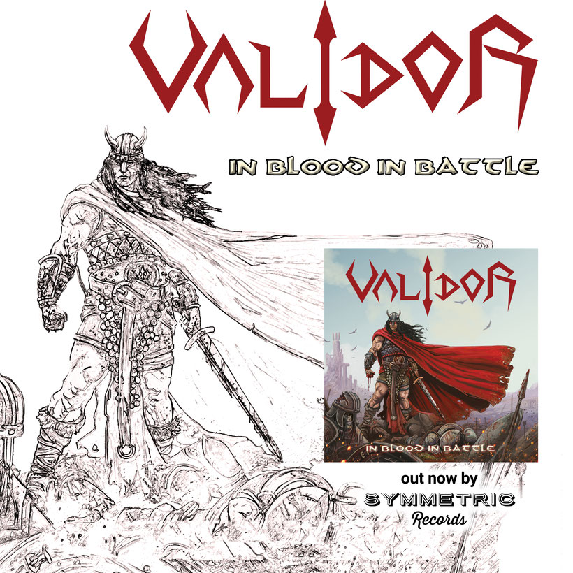 "VALIDOR – ""Stealer Of Souls"" from album ""In Blood In Battle"", by Symmetric Records"