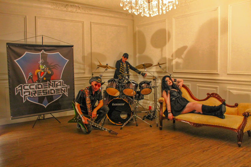 Accidental President: Australian Alternative Hard Rockers Release Video 'Hateful', rockers and other animals