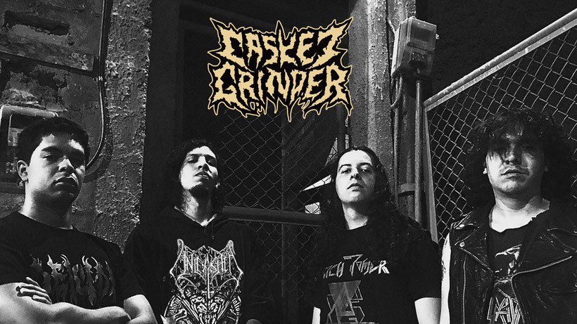 Casket Grinder: Colombia's Death Metallers Release New Album Fall into Dementia on Awakening Records