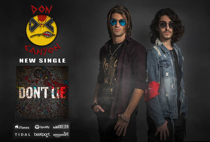 Don Canyon, Don't Lie, Joakem, new single, video, rockers and other animals, news, Rock