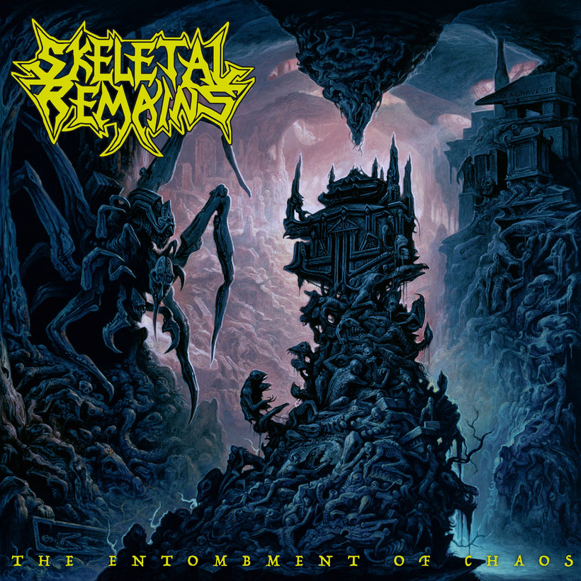 """SKELETAL REMAINS – announce September release date of new album """"The Entombment Of Chaos""""   rockers and other animals magazine, heavy metal"""