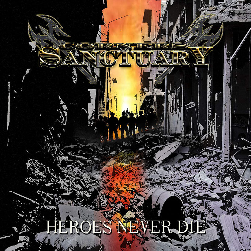 CORNERS OF SANCTUARY, rockers and other animals, Single, Traditional Metal, Heroes Never Die