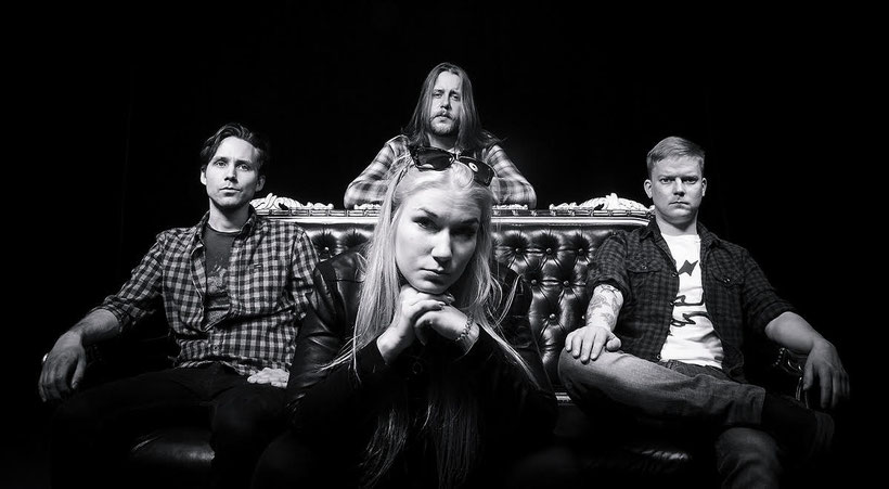 Finnish Melodic Hard Rock band Jo Below released a new single from their upcoming EP, rockers and other animals