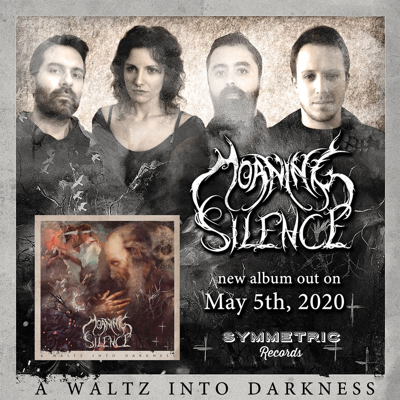 MOANING SILENCE, I Am The Sorrow, album, Α waltz into darkness, Symmetric Records, rockers and other animals, news, lyric video