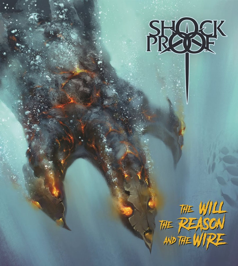 SHOCKPROOF, heavy metal, premiere, new album, The Will The Reason and The Wire, Time To Kill Records, rockers and other animals, news
