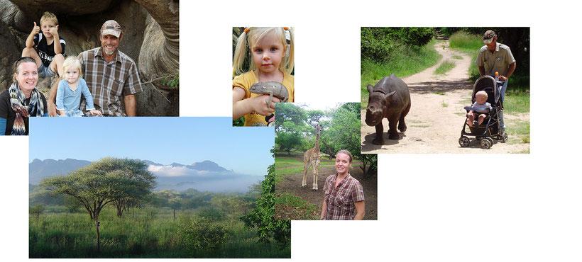 Eigenaar chameleon travel africa