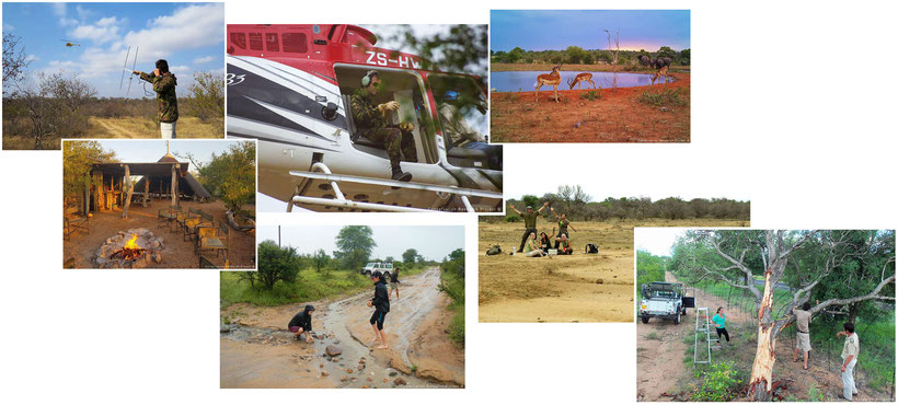 Acties bij project in Zuid-Afrika