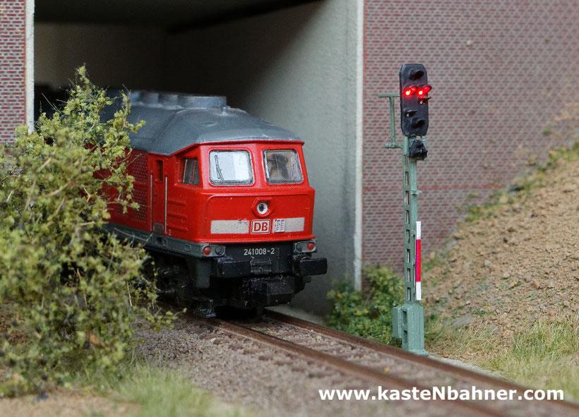 DB Signal 59 59er 51 51er Bauart Spur N 1:160 Ausfahrsignal