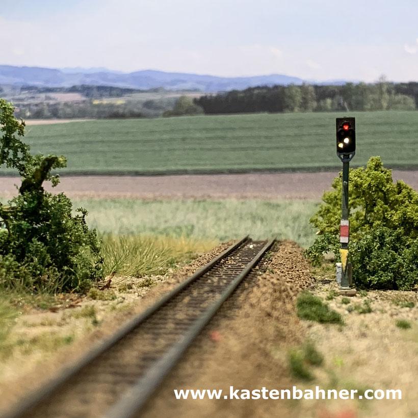 DB Signal Spur Z 1:220 KS Signal märklin