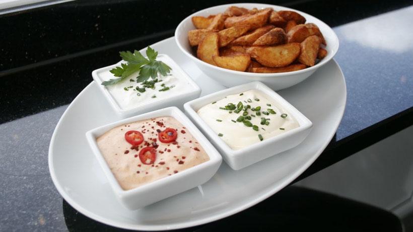 Mardin Kebab: Leckere Saucen