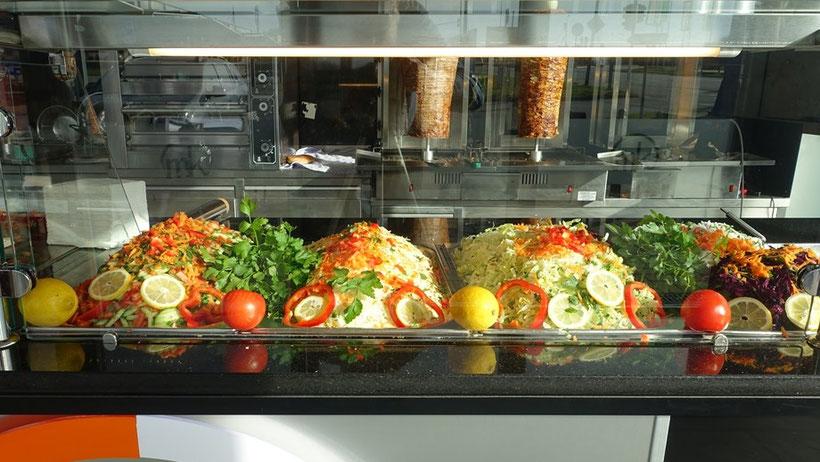 Mardin Kebab: Frisches Gemüse