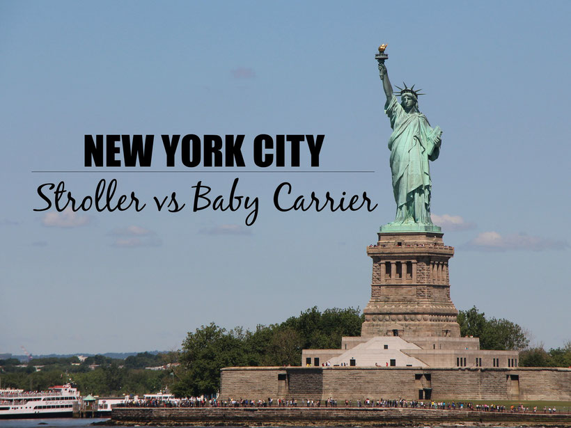 Travelling to NYC? Next in our series of Stroller vs Baby Carrier, we give our recommendations for the top 5 attractions in NYC. Read more at www.babycantravel.com/blog