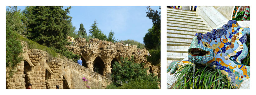 Park Güell Barcelona with baby - Stroller vs Baby Carrier