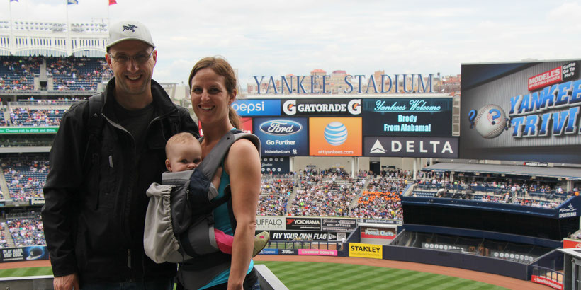 Yankee Stadium NYC With Baby