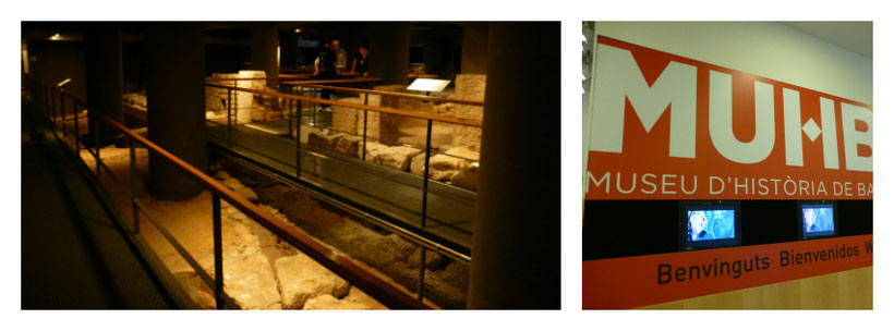 Museu d'Història de Barcelona  with baby - Stroller vs Baby Carrier