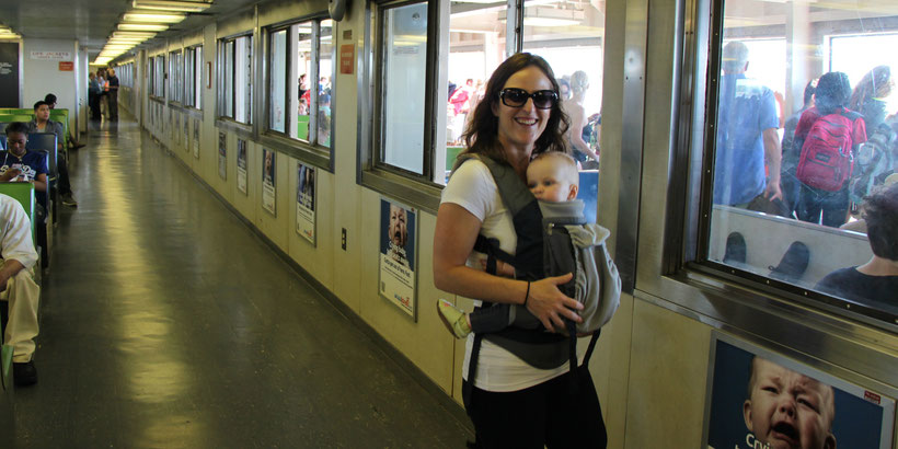 Staten Island Ferry NYC With Baby