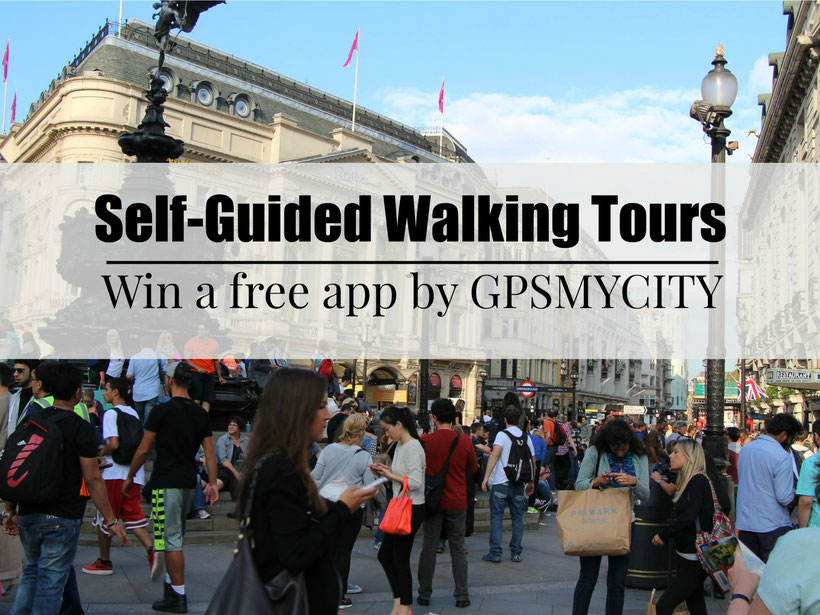 Self-Guided Walking Tours - An app by GPSMYCITY