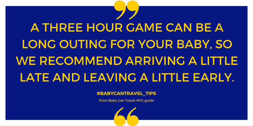 Travel With Baby Tip for NYC