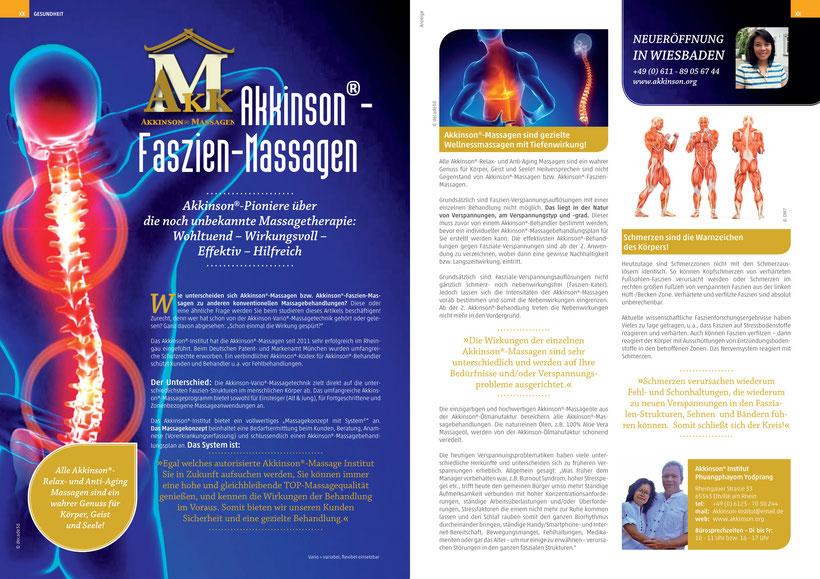 Akkinson® Faszienmassage